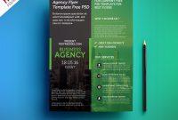 Modern Business Agency Flyer Template Free Psd  Psdfreebies with New Business Flyer Template Free