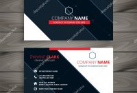 Modern Business Card Design Template — Stock Vector © Starline regarding Modern Business Card Design Templates