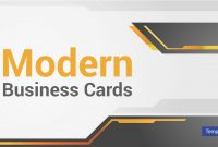 Modern Business Card Templates  Psd Ai Word  Free  Premium intended for Free Business Cards Templates For Word