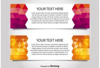 Modern Style Web Banner Templates  Download Free Vector Art Stock pertaining to Website Banner Templates Free Download