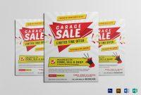 Modern Yard Sale Flyer Template regarding Yard Sale Flyer Template Word