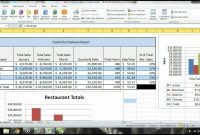 Ms Excel  Tutorial Employee Sales Performance Report Analysis inside Sale Report Template Excel