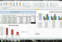 Ms Excel  Tutorial Employee Sales Performance Report Analysis throughout Monthly Productivity Report Template