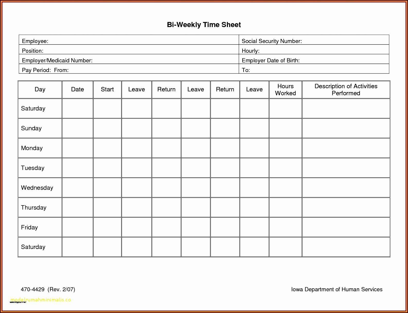Multiple Employee Timesheet Free Then Awesome Biweekly Timesheet Regarding Weekly Time Card Template Free