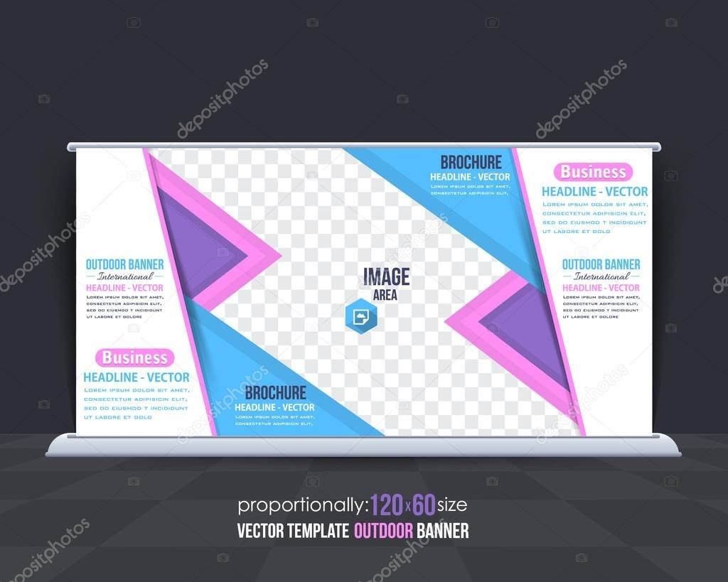 Multipurpose Business Theme Outdoor Banner Template Advertising Within Outdoor Banner Template
