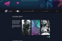 Music Web Templates Record Label Website Template Free Download in Record Label Website Template Free