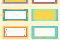 Name Labels For School Books Templates  Professional Template inside Book Label Template Free