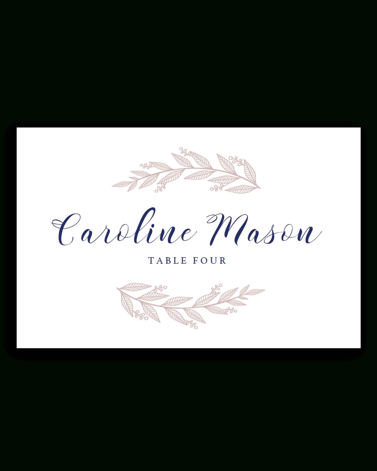 Name Place Cards Template Amazing Ideas Free Card Download Throughout Free Place Card Templates Download