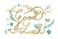 Natural Luck  Good Luck Card Free  Greetings Island within Good Luck Card Template