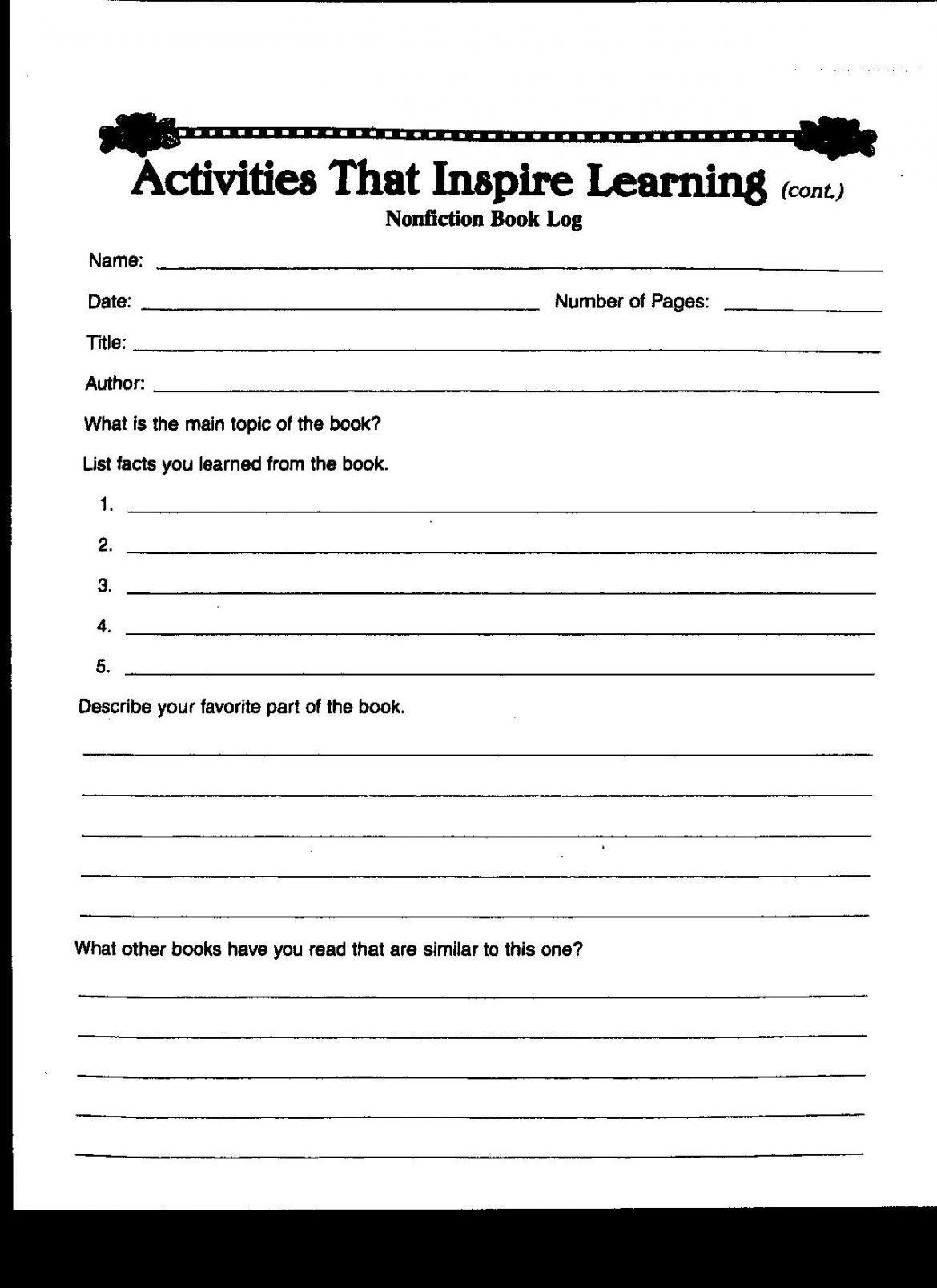 Nd Grade Book Report Template – Teplates For Every Day Intended For Book Report Template 4Th Grade
