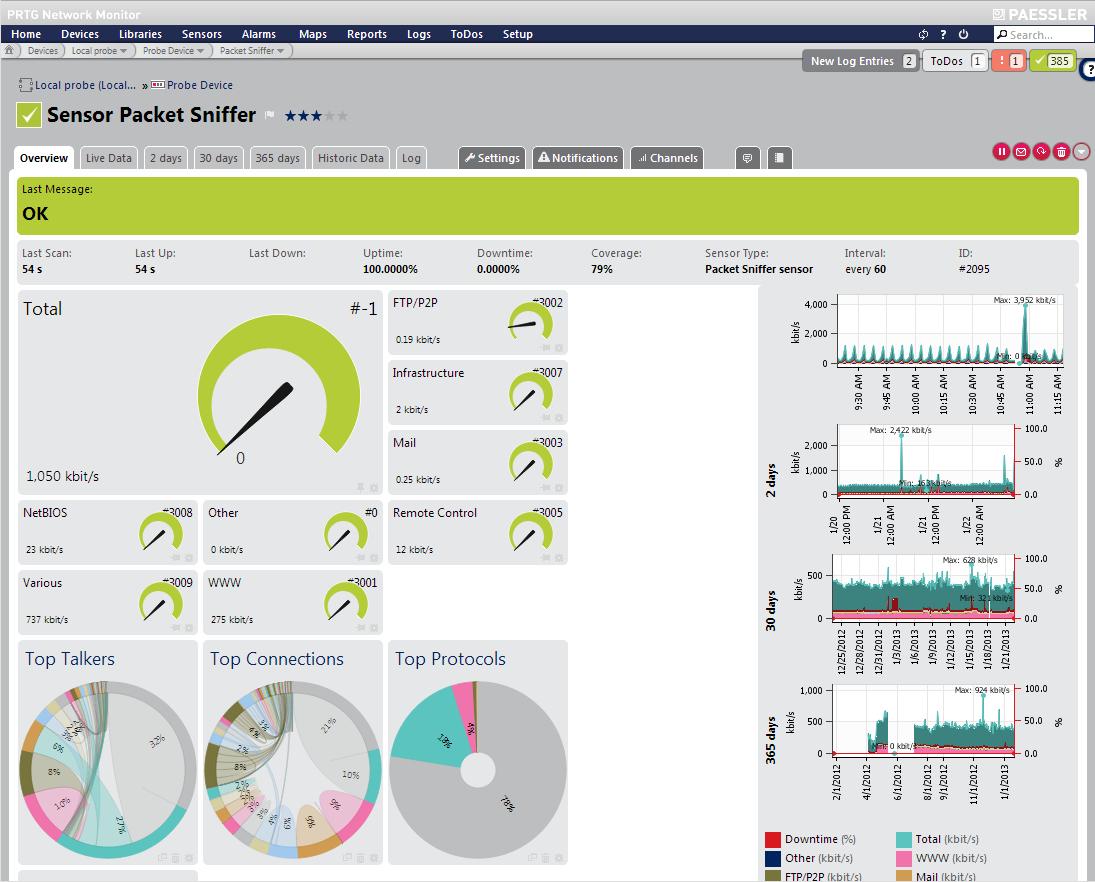 Network Monitoring  Paessler Prtg  Paessler  Sample Resume In Prtg Report Templates