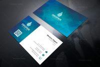Neutron Professional Corporate Business Card Template intended for Professional Name Card Template