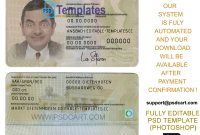 New  Editable Id Card Templates  Business Letters Blog with Georgia Id Card Template