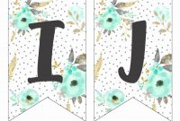 New Free Printable Banner Alphabet  Wwwpantrymagic for Printable Letter Templates For Banners