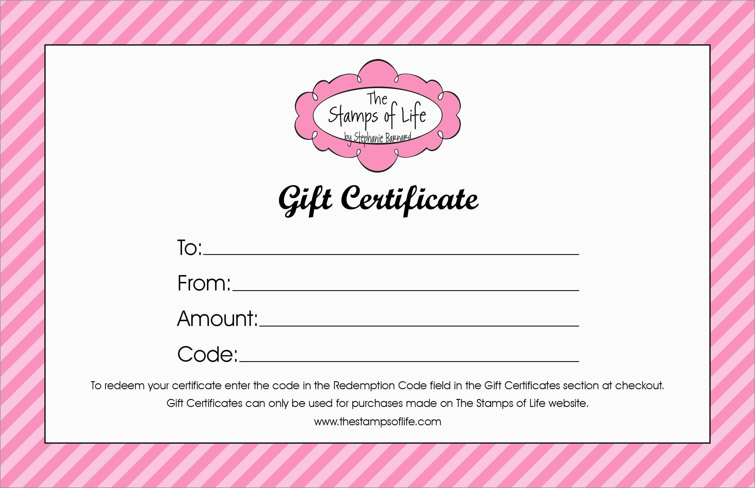 New Gift Certificate Template Free Download  Best Of Template With Homemade Christmas Gift Certificates Templates
