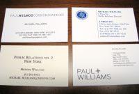 New  Paul Allen Business Card Template  Digitalcorner with Paul Allen Business Card Template