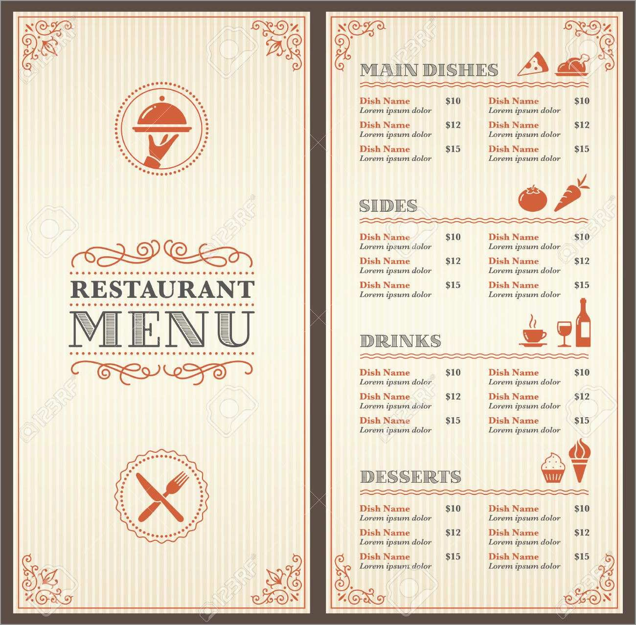 New S Diner Menu Templates Free Download  Best Of Template With Regard To 50S Diner Menu Template