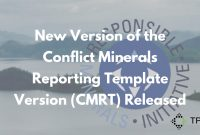 New Version Of The Conflict Minerals Reporting Template Version inside Conflict Minerals Reporting Template