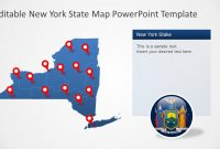 New York State Powerpoint Map Template  Slidemodel regarding Powerpoint 2013 Template Location