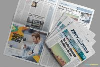 Newspaper Mockups  Free Psd Download  Zippypixels intended for Free Newspaper Advertising Contract Template