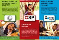 Ngo Or Charity Brochure Designs On Behance Intended For Ngo Brochure Templates