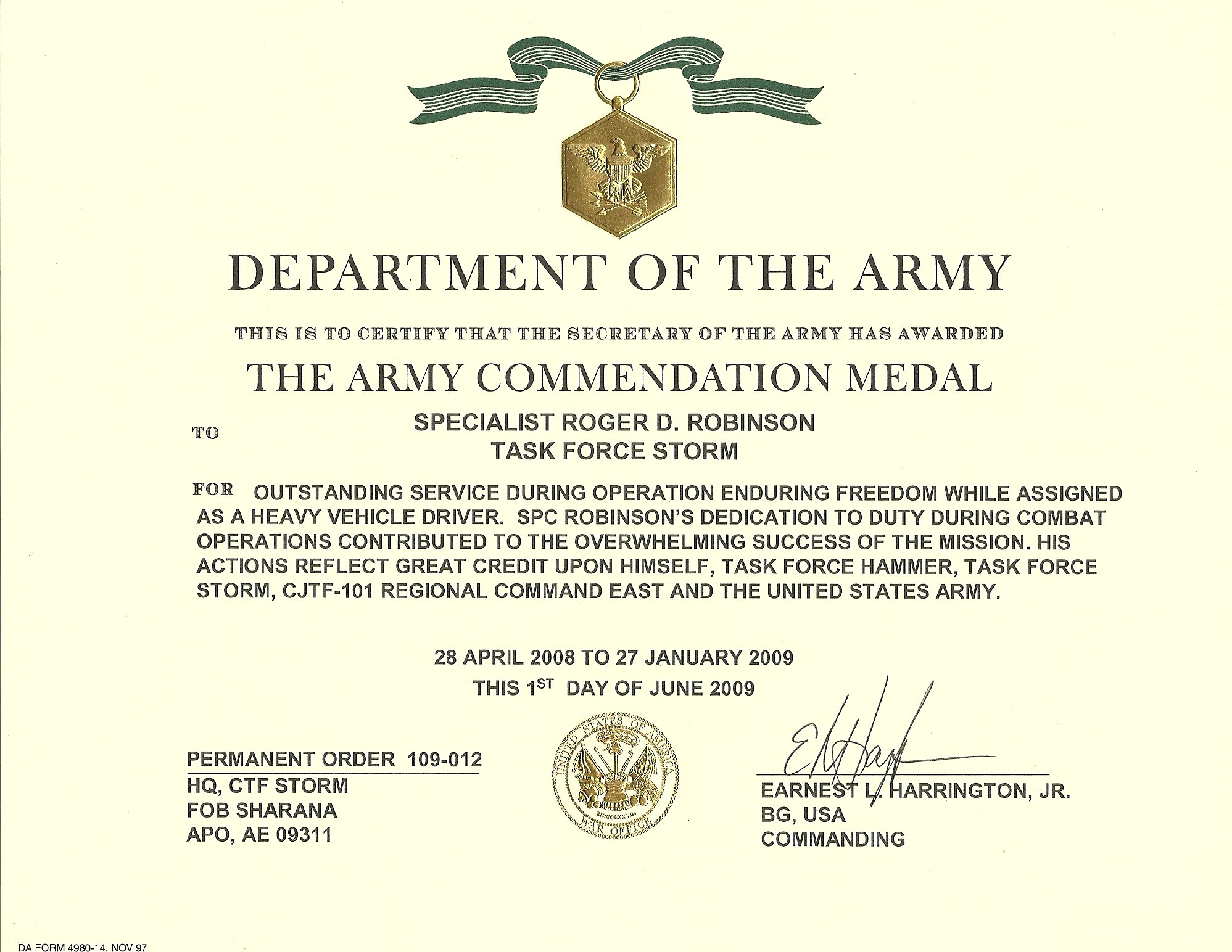 Nice Army Achievement Medal Certificate Template Photos Military Throughout Army Good Conduct Medal Certificate Template