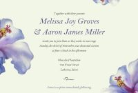 Nice Electronic Wedding Invitations Free Templates  Invitations intended for Free E Wedding Invitation Card Templates