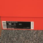 Nike Shoe Box Label Template  Trovoadasonhos throughout Nike Shoe Box Label Template