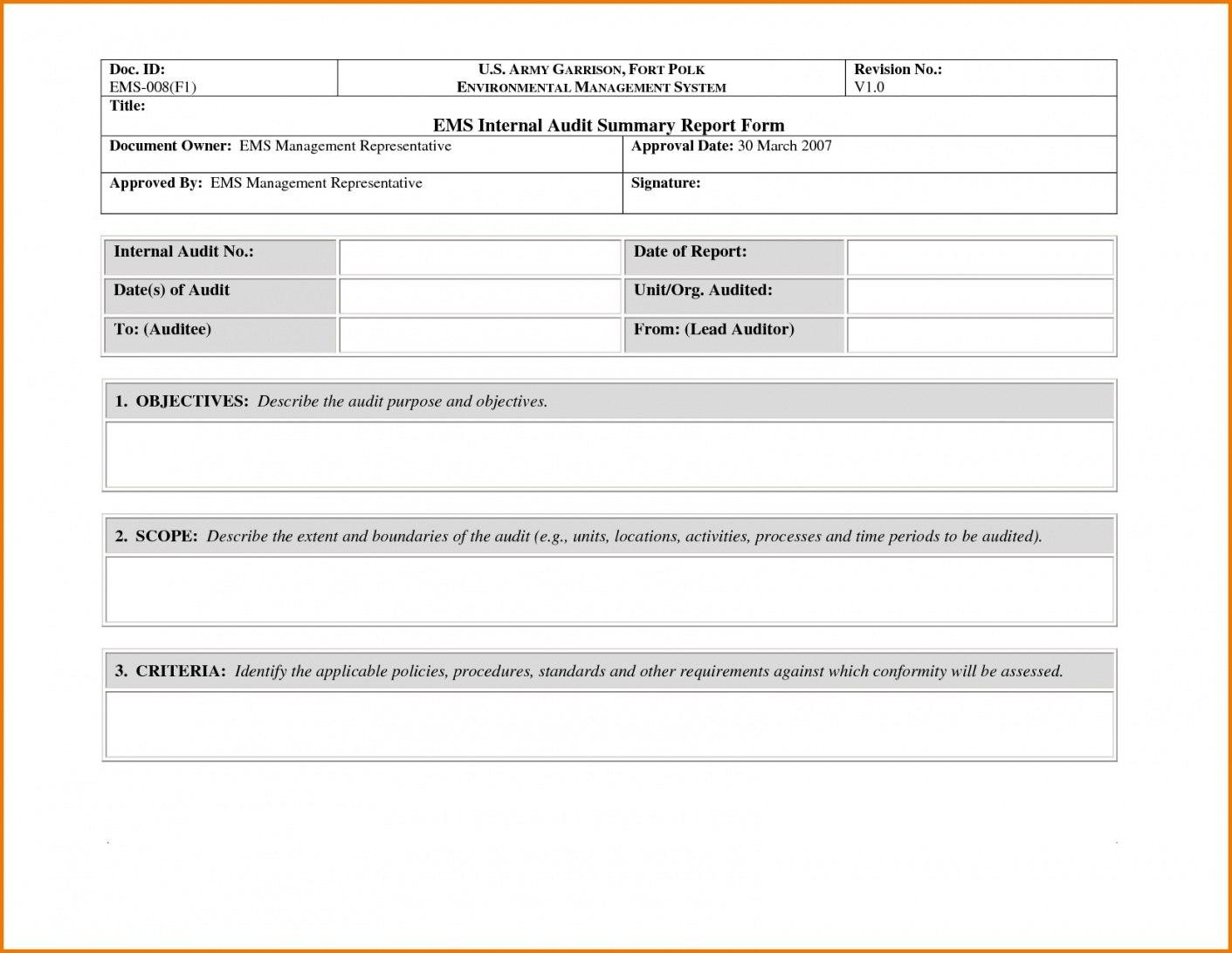 Non Conformance Report Form  Sansurabionetassociats Pertaining To Ncr Report Template