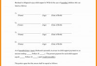 Notarized Custody Agreement Template  Lera Mera within Child Relocation Agreement Template