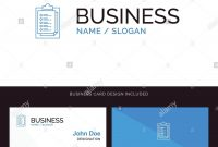 Notepad Report Card Result Presentation Blue Business Logo And regarding Result Card Template