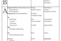 Nursing Report Sheet Template Best Ideas Sample Templates regarding Nurse Report Template