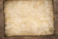 Old Blank Parchment Treasure Map On Wooden Table Stock Image  Image pertaining to Blank Pirate Map Template