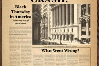 Old Newspaper Template Word in Old Blank Newspaper Template