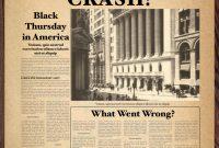 Old Newspaper Template Word inside Blank Old Newspaper Template