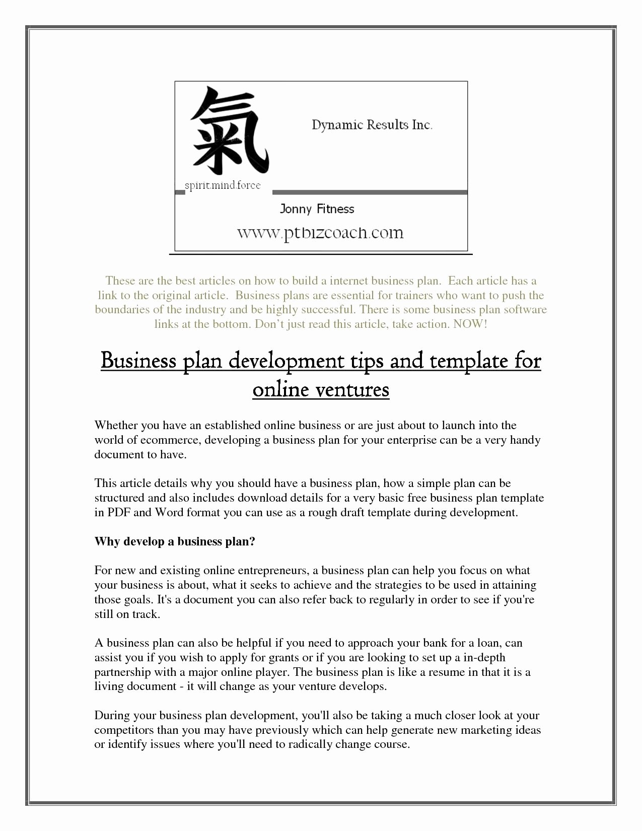 Online Retail Hing Store Business Plan Fashion Concept Pdf Throughout Online Store Business Plan Template