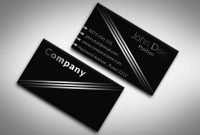 Only The Best Free Business Cards   Free Psd Templates with regard to Black And White Business Cards Templates Free