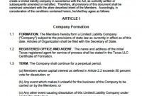 Operating Agreement Samples  Icardcmic regarding Corporation Operating Agreement Template