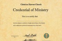 Ordained Ordination Ordain Ordination Online Ordainment Be intended for Certificate Of Ordination Template
