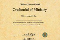 Ordination Certificate Templates Free  Mandegar in Free Ordination Certificate Template