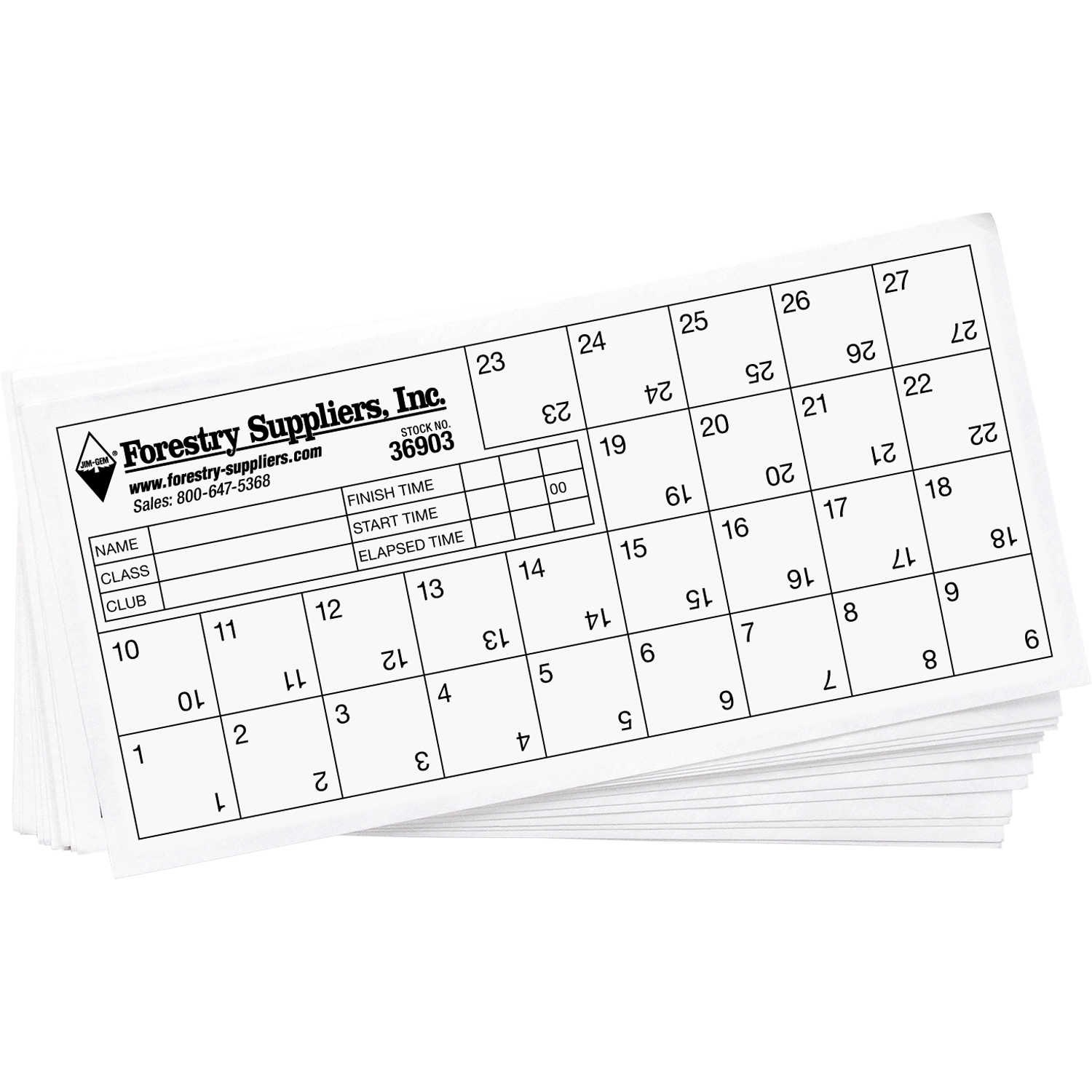 Orienteering Control Cards Pack Of   Forestry Suppliers Inc Inside Orienteering Control Card Template