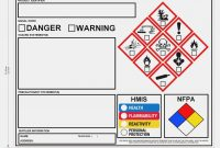 Osha Ghs Label Template Hmis Label – Top Label Maker – Hmis Label with Ghs Label Template
