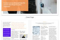 Pageturning White Paper Examples Design Guide  White Paper with White Paper Report Template