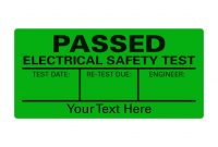Pat Test Passed A Sheet Labels  Able Labels regarding Pat Testing Labels Template
