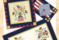 Patterns throughout Quilt Label Template