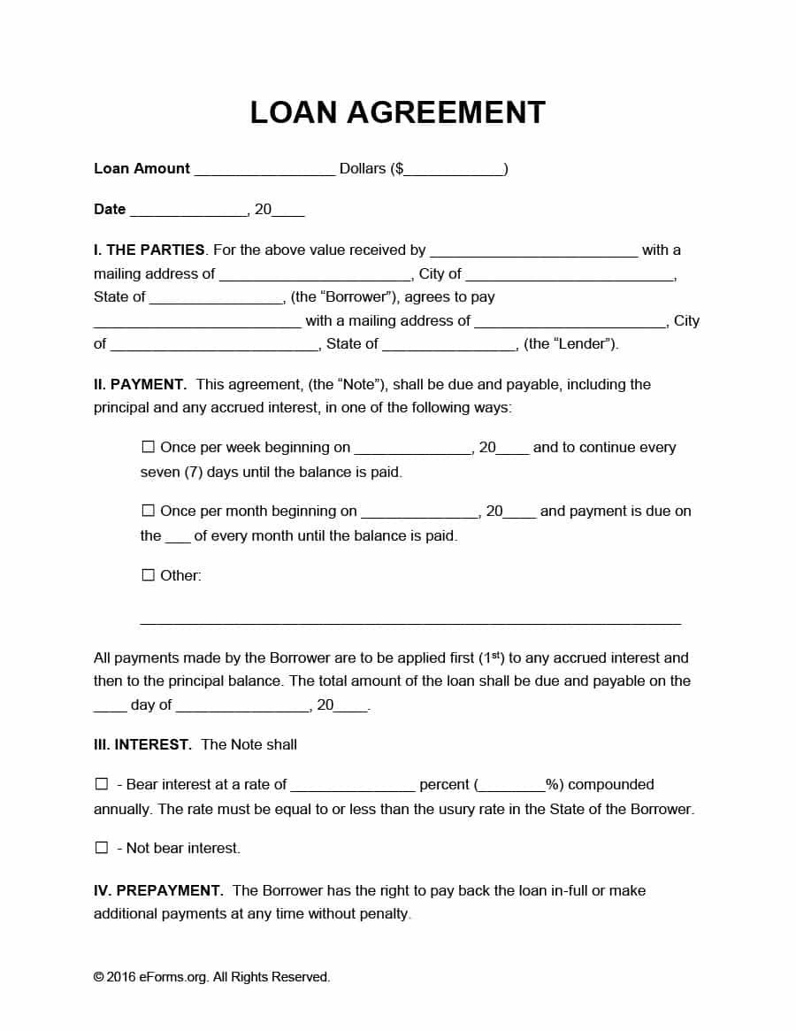 Payment Agreement   Templates  Contracts ᐅ Template Lab Within Free Hardware Loan Agreement Template