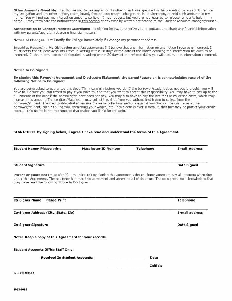 Payment Plan Agreement Template Astounding Ideas Uk Pdf Throughout Financial Payment Plan Agreement Template
