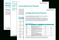 Pci Continuous Monitoring Report  Sc Report Template  Tenable® with Technical Support Report Template