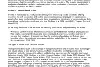 Pdf Journal Of Mediation And Applied Conflict Analysis for Workplace Mediation Outcome Agreement Template