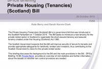 Pdf Private Housing Tenanciesscotland Bill pertaining to Scottish Short Assured Tenancy Agreement Template